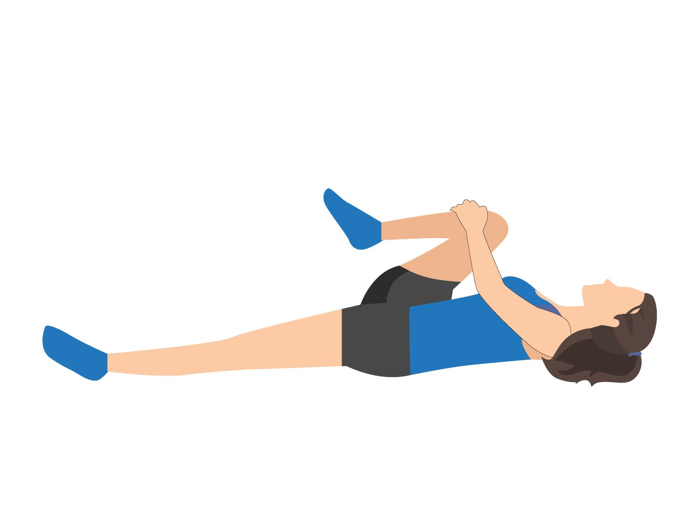 Sciatica Stretch Knee to Chest