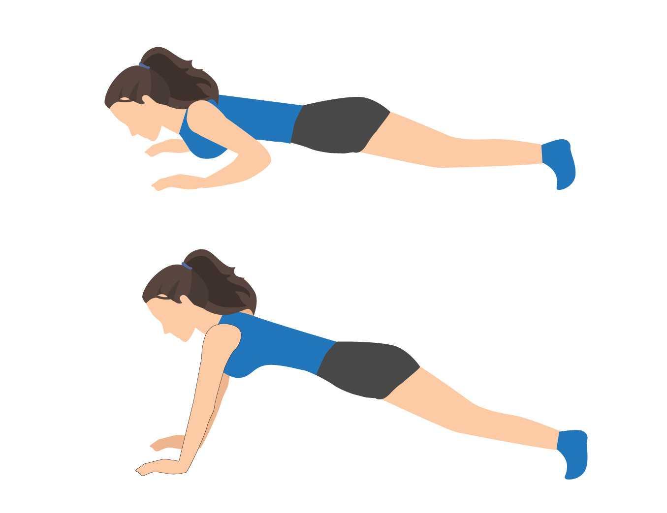 Sciatica Exercise Push Ups