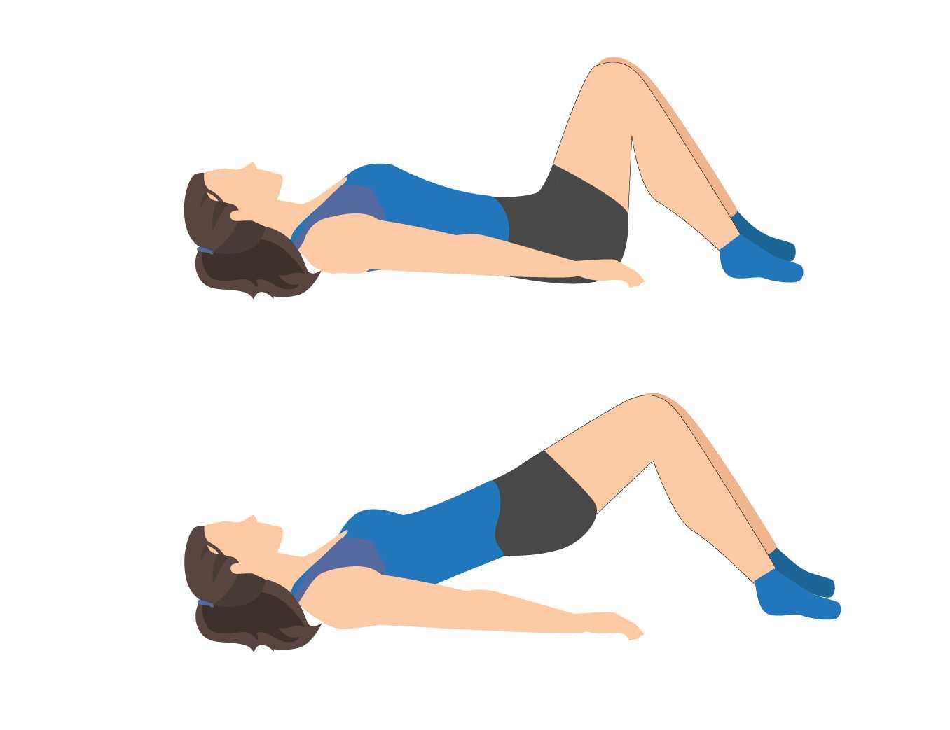 Sciatica Exercise Upward Pelvic Tilt