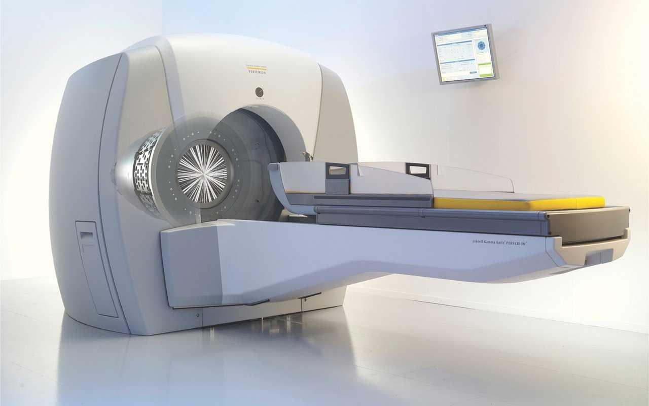 GAMMA KNIFE RADIOSURGERY noninvasive brain and neck procedures