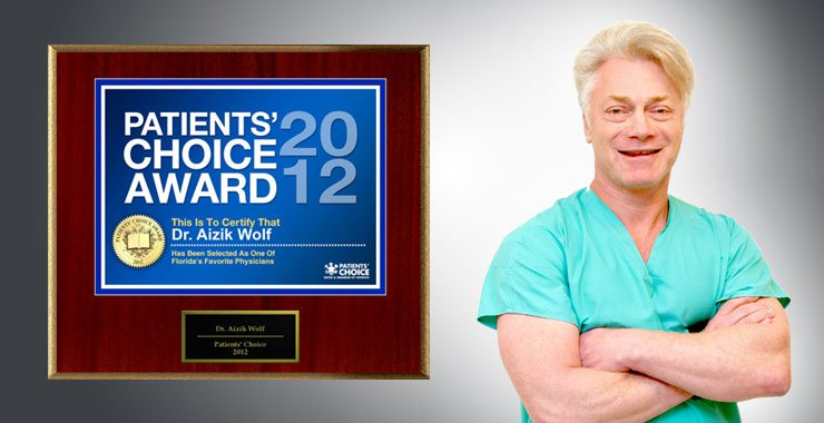 Patients' Choice Award Winner for 2012